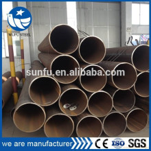 Hot selling ISO 9001 welded S235JR steel pipe with CE SGS