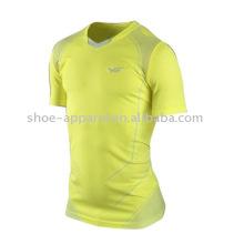 último diseño Crew Men Tennis Shirt camiseta deportiva