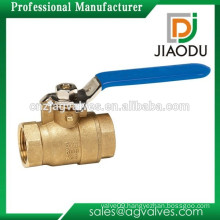 No-Lead Full Port Packing Gland Ball Valve with 1/4-Turn Female Thread x Female Thread Brass 1-Inch