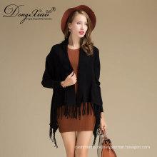 Damen Wolle Poncho Schal Cashmere Nepal Poncho Sweater