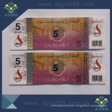 Silver Hot Stamping Foil Ticket Printing