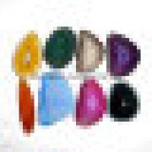 Semi Precious Stone Mix Farbe Achat Scheiben