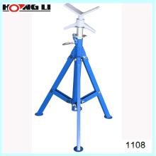 """1108 support de tube rouleau réglable pour tuyau de 2 """"-12"""""""