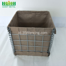 Dijual Hot PVC Coated Hesco Barrier