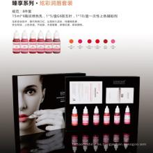 Kit de pigmento labial cosmético saludable Goochie Organic Cosmetic Tattoo