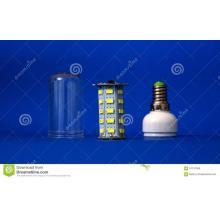 O alojamento do filtro de plástico transparente