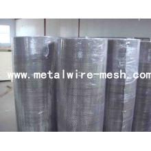 Tela de alambre cuadrada galvanizada para filtrar