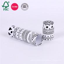 Caja de papel de cilindro de embalaje de cartón