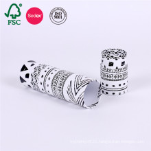 Cardboard packaging cylinder paper box