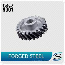 Engrenagens de aço forjadas / forjadas personalizadas