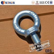 Fabricante de China del perno de ojo del acero de carbono Q235
