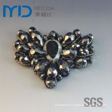 Фальшивые бриллианты из бисера Цветы пряжки для женской обуви