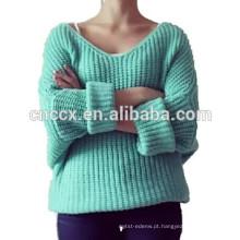 Camisola solta da mola do tipo 15JWS0511 mulher