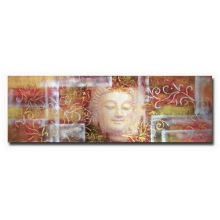 Handmade Modern Buddha Oil Painting on Canvas
