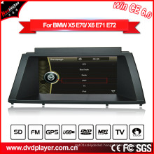 Windows Ce Car Radio GPS DVD Navigation for BMW X5/X6 Hualingan