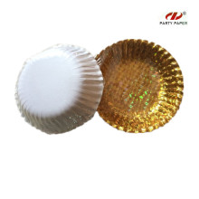 Small Gold Laser Disposable Paper Bowl