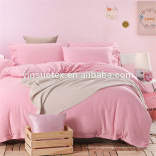 Todo color impreso, Juegos de cama baratos, algodón 100%, juego de cama de estilo común
