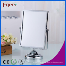 """Fyeer 6 """"X8"""" espelho de maquiagem retangular ampliação de mesa de madeira"""