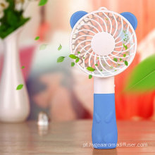 Handheld Portable USB Cute Bear Fan para Casa