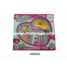 Hot Selling Plastic Doctor Instrucment Toy Set (1009402)