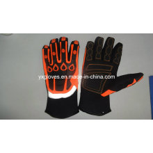 Mechanic Glove-Heavy Duty Work Glove-Safety Glove-Oil&Gas Glove-Gloves-Light Lifting Glove