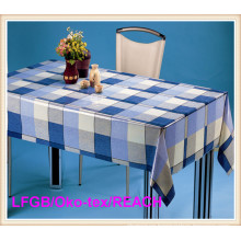 Fashion PVC Transparent Table Oilcloth/ Tablecloth Waterproof