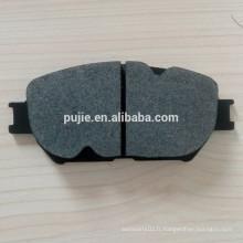 Pièces de rechange pour freins à disques à faible bruit sans asbestos
