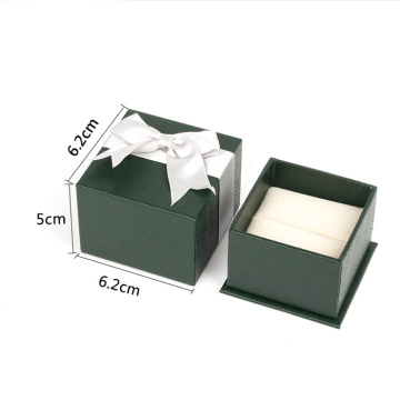 High Quality Jewerly Paper Box With Ribbon Bowknot
