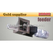 feeder for plastic pelleting extruder