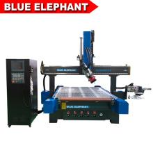 Machine de gravure sur bois 5d cnc / 3d machine de sculpture sur bois cnc avec de haute qualité