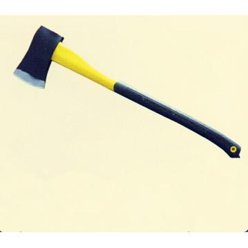 Hache avec manche en plastique-enduit (SD090)