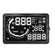 OBD2 Tire Pressure Hud Car Monitor Display TPMS Trip Computer