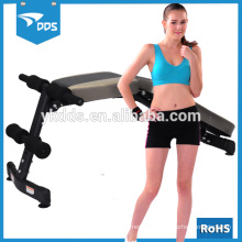 metal work cardio fitness exercise weight sit-up bench