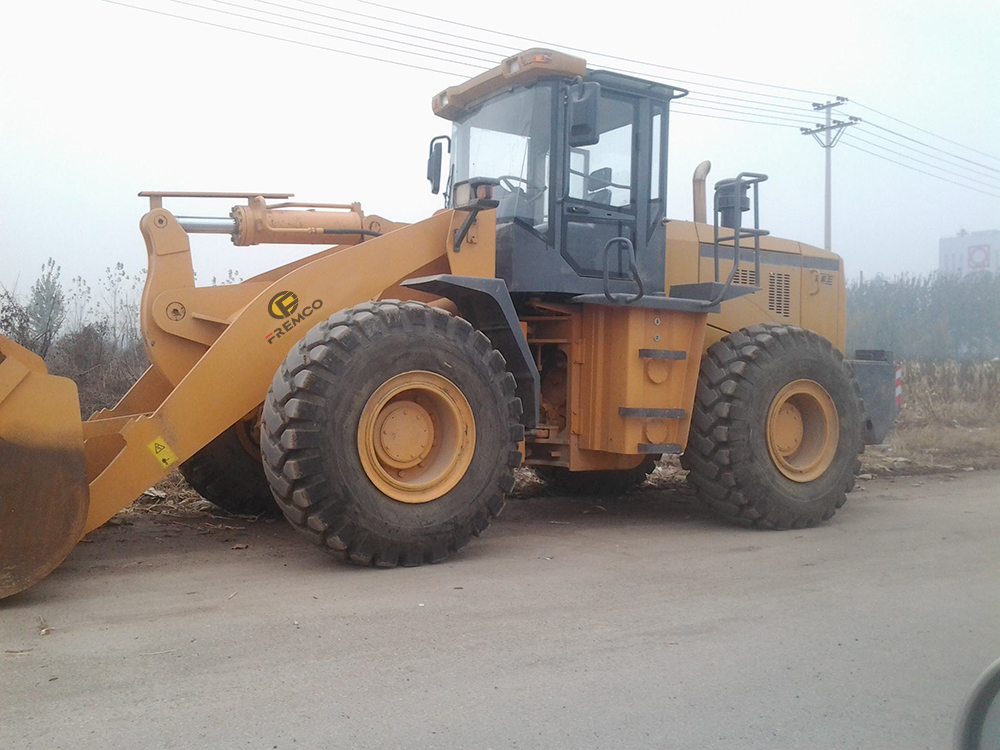 Wheel Loader With Log Grapple For Sale