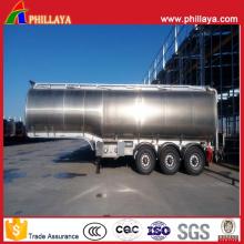 Leichter Tanktransport-halb Anhänger-Brennstoff-Aluminiumtanker