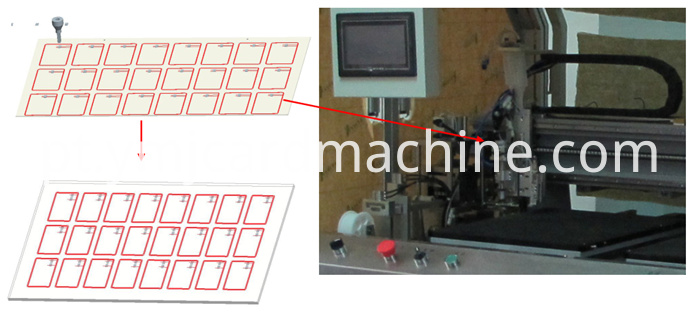 Card Strip Module Mounting Machine