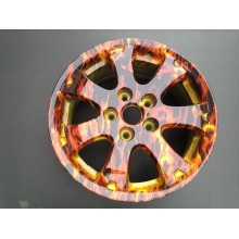Hydrographic Film Water Transfer Printing Wheel Hub