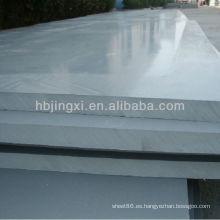 Hoja de plástico grueso de PVC de 60 mm