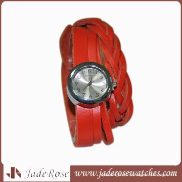 Дамы Ручной Цепи Мода Часы Сплав Часы Женщины Кожа