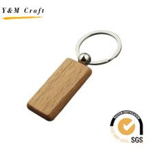 Chaveiro de madeira em branco personalizado com alta qualidade (y04302)