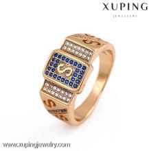 12166-Xuping Nuevo artículo moda hombres anillo venta modelo en línea