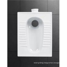 Hot Sale Bathroom Ceramic Toilet Squat Pan
