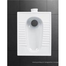 Venda quente banheiro banheiro cerâmica agachamento Pan