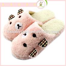 Chinelo de peluches em forma de animal em forma de chinelo lindos chinelos de inverno