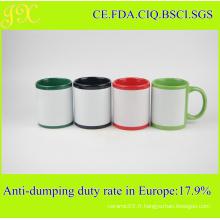 Tasse en céramique sublimation écologique de 11 oz