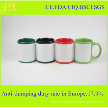 Caneca de cerâmica Eco-Friendly 11oz Sublimation