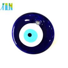 2014 joyería de Yiwu azul cristal turca mal de ojo colgante