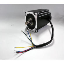 3phase 48v high precision nema34 dc brushless motor, bldc motor for CE certification