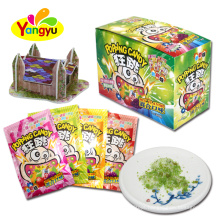 3D DIY House Toy with Popping Candy