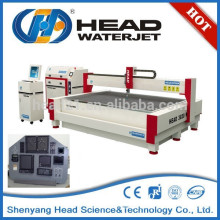 High volume water jet cutting front panel cutting machine